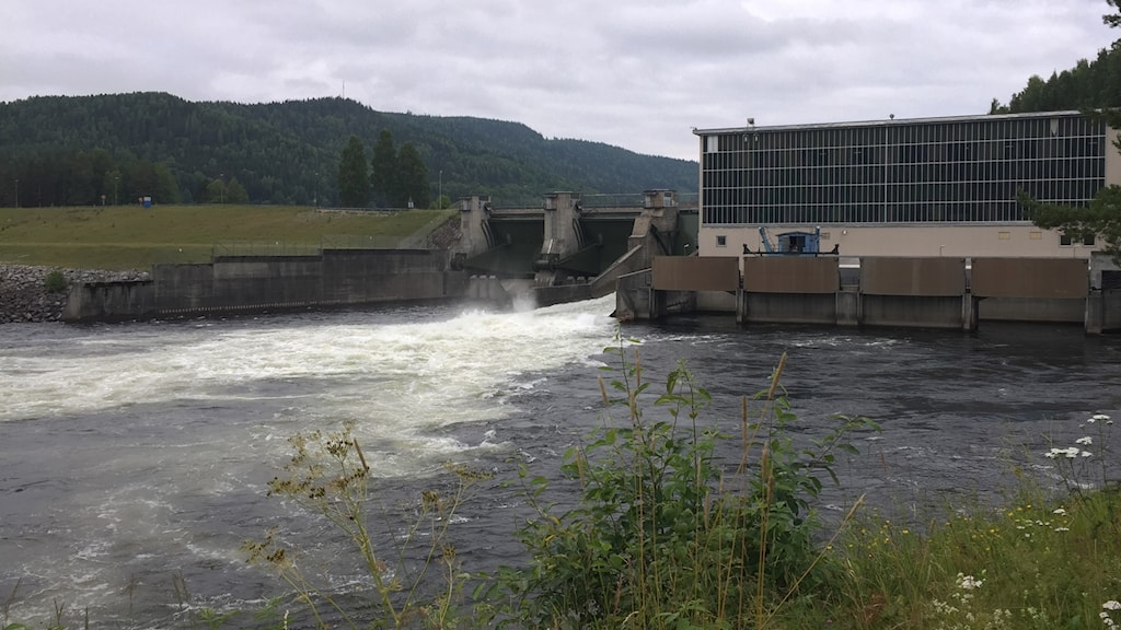 Järkvissle kraftverk larmats om utsläpp. Foto: Niklas Axelsson/Sveriges Radio