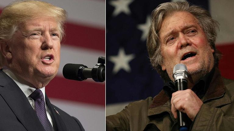 President Donald Trumps tidigare chefsstrateg Steve Bannon lämnar högerpopulistiska sajten Breitbart News.