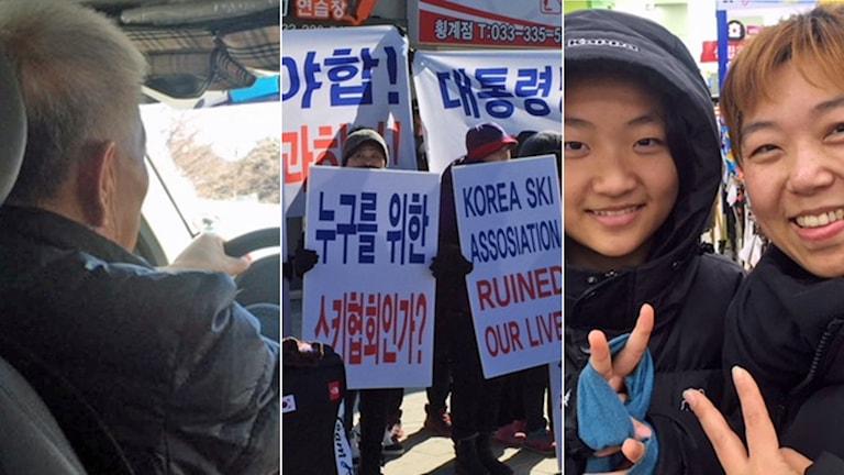 Inför OS i Sydkorea.