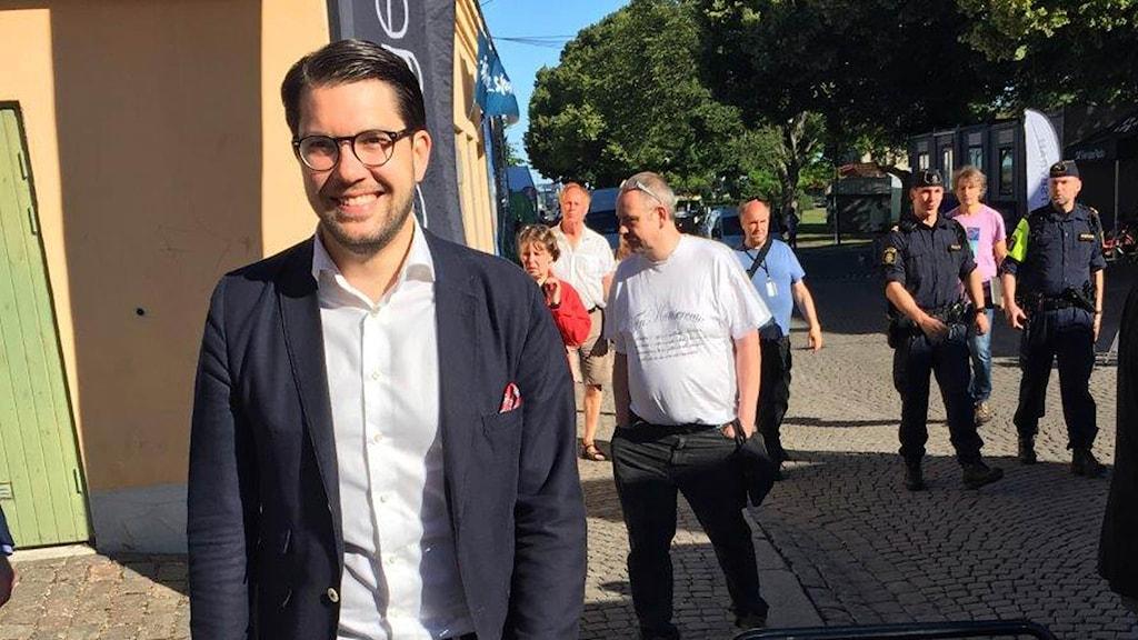 JImmie Åkesson Almedalen