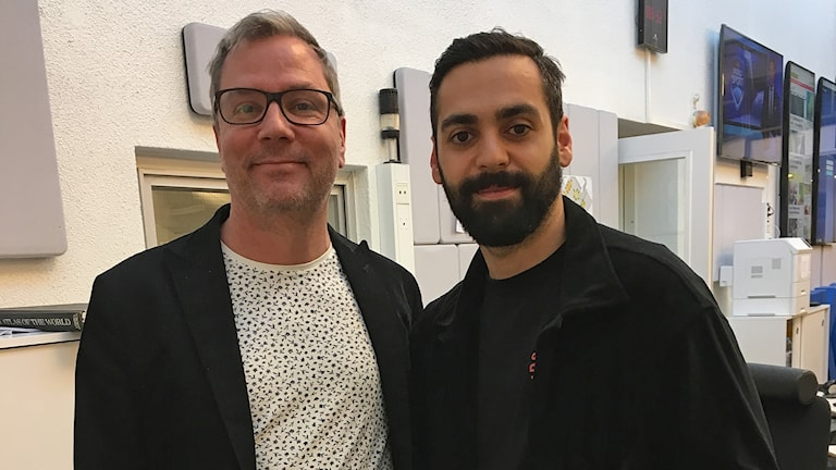 Håkan Widman och Ardalan Esmaili.