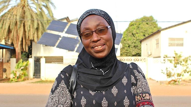 """Fatoumatta """"Touma"""" Njai ställer upp i parlamentsvalet för att hon vill förbättra utbildningen i Gambia"""
