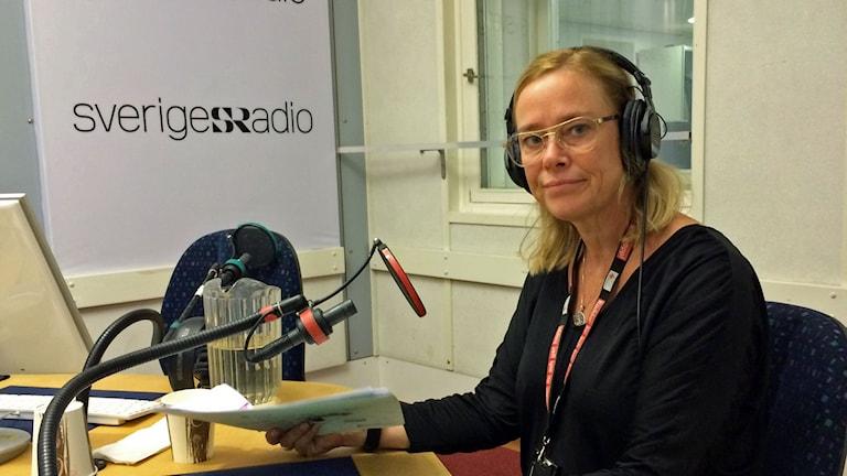 Malena Rembe, representant för svenska Röda korset i Mellanöstern.