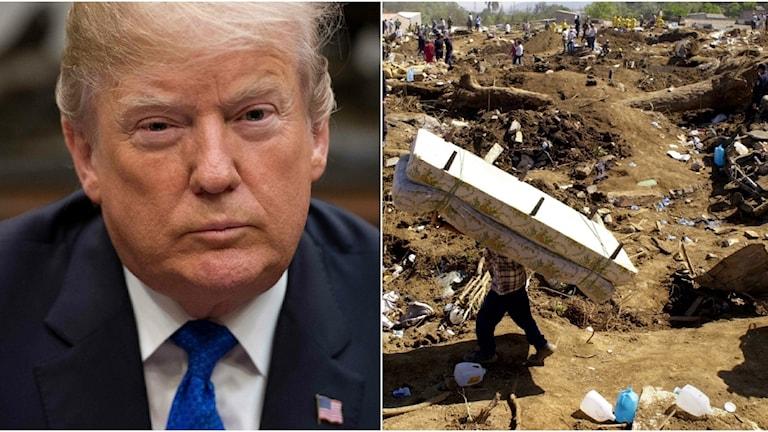 Trumpadministrationen att de salvadoraner som fick tillfälliga uppehållstillstånd efter jordbävningar 2001 måste lämna USA.