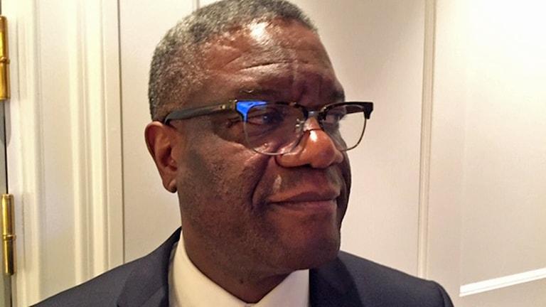 Denis Mukwege på Sverigebesök.
