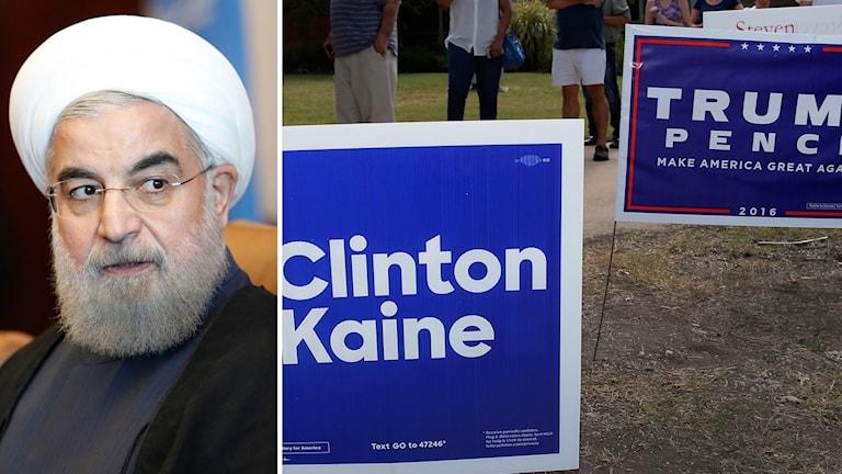 Iran och amerikanska presidentvalet