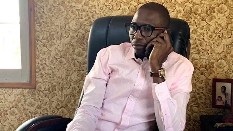 Gambia upplever en ungdomsexplosion, säger Nyang Nije.