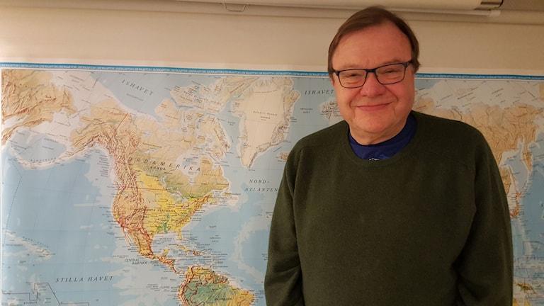 Dag Blanck, professor i Nordamerikastudier.