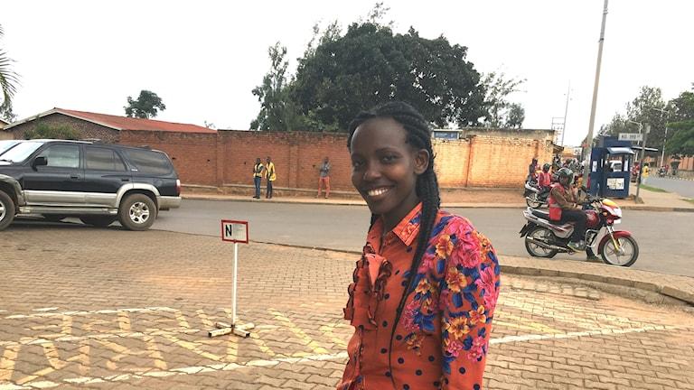 Dianah Kihumuro i Rwanda är hiv-positiv och drömmer om en bot