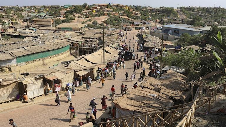Flyktingläger Coxs Bazaar