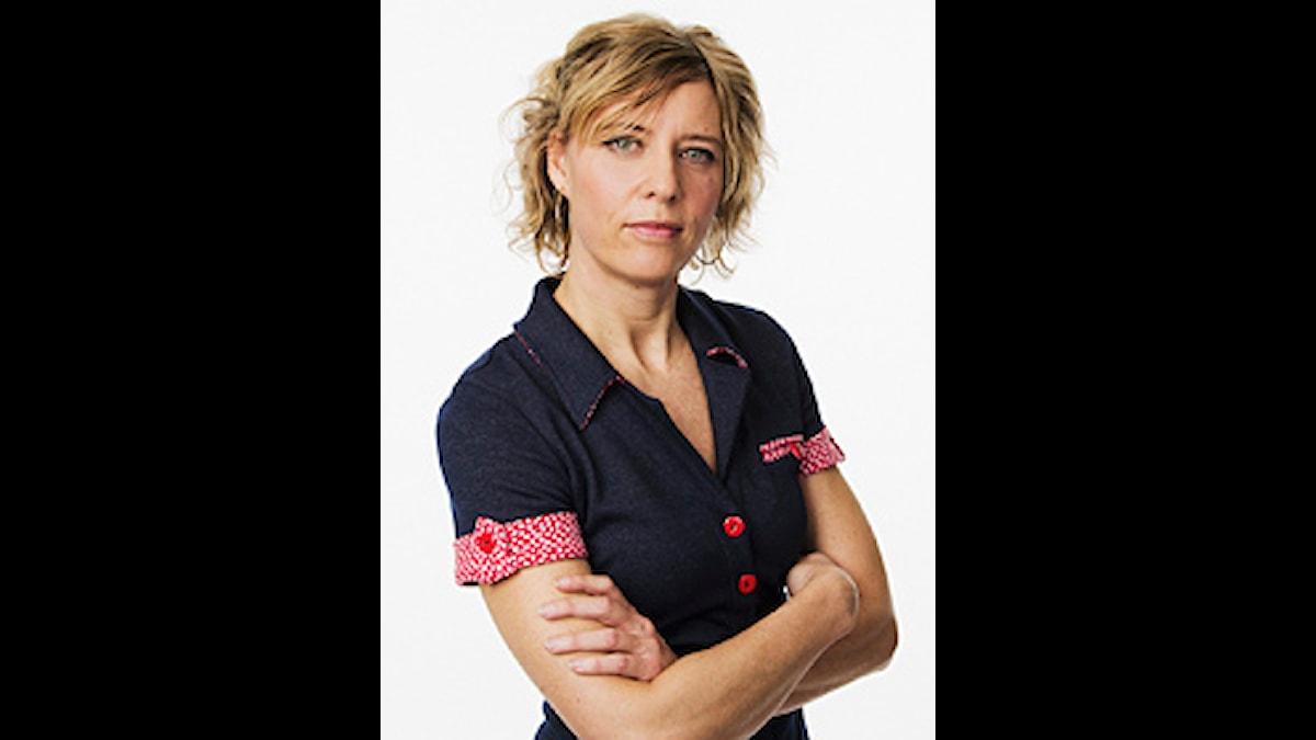 Katherine Zimmerman. Foto: Sveriges Radio.