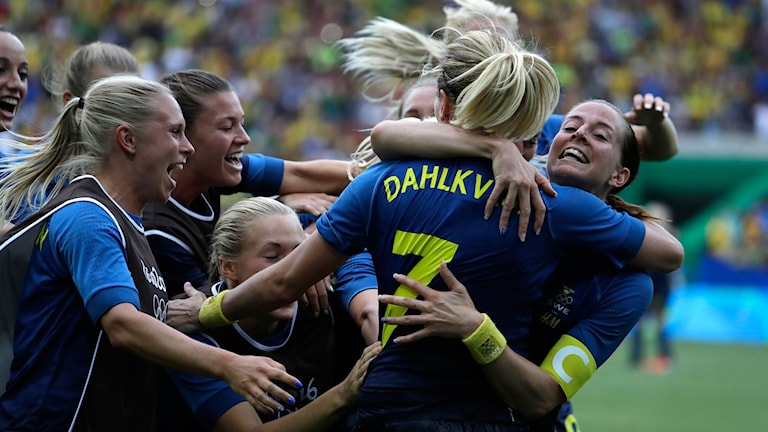 Sverige vann semifinalen i fotboll under OS i Rio.
