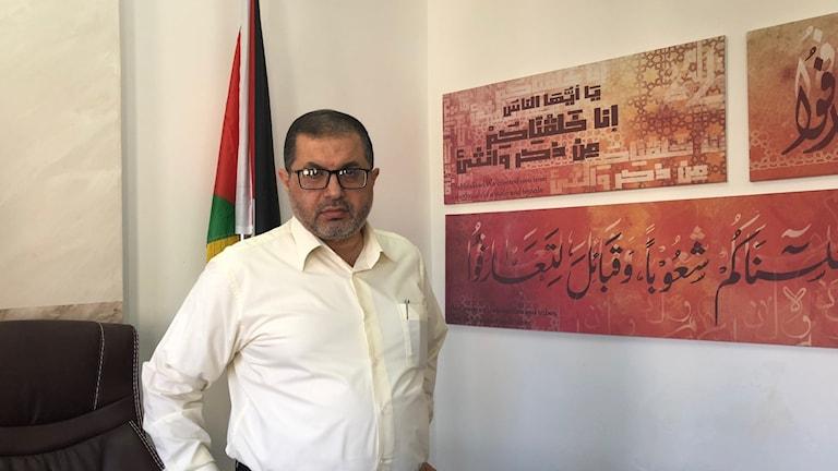 Hamas utrikespolitiska talesman Bassem Naim