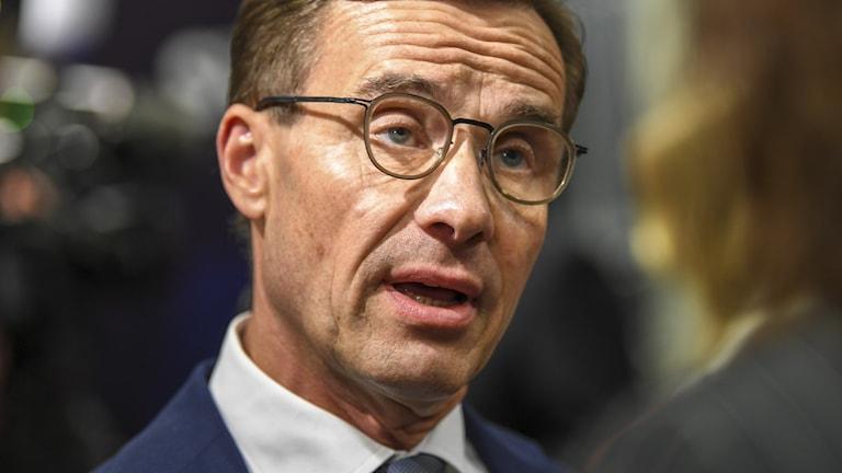 Hör partiledaren Ulf Kristersson om polisen, slöjförbud och om Alliansens död.