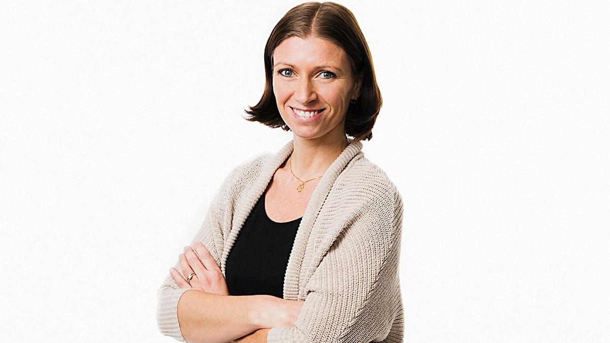 Erika Mårtensson. Foto: Mattias Ahlm/Sveriges Radio.