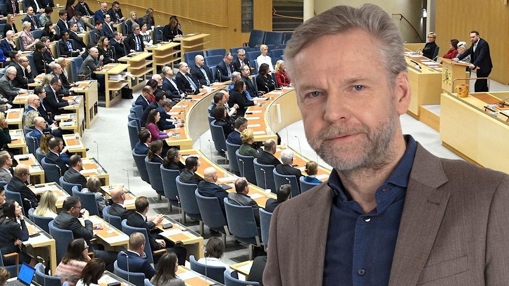 Tomas Ramberg och statsministeromröstning i Riksdagen