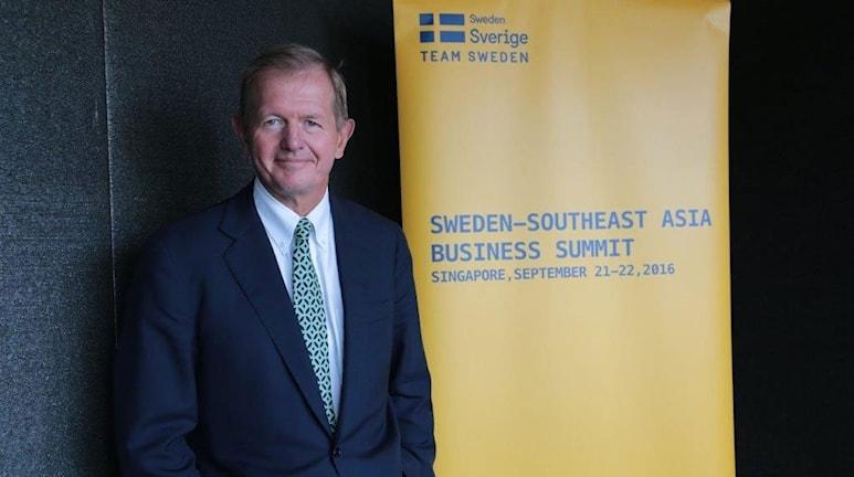 Marcus Wallenberg ser stora möjligheter för svenska företag i att etablera sig i Sydostasien.