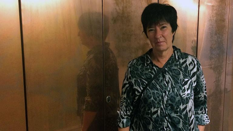 Mona Sahlin, regeringens samordnare för att motverka den våldsbejakande extremismen. Foto: Sveriges Radio