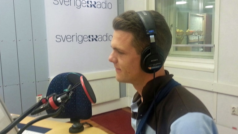 Christofer Fjellner. Foto: Ensi Ukkola/Sveriges Radio