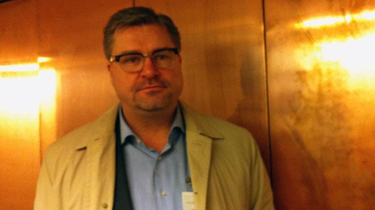 Mikael Sjöberg, Arbetsförmedlingens generaldirektör.