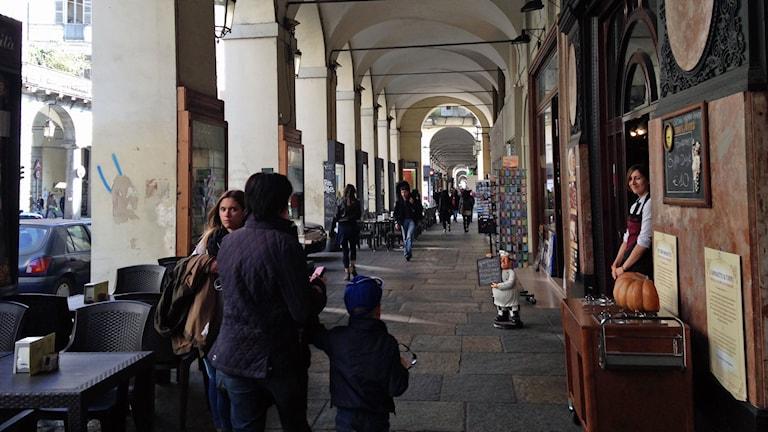 Turin i norra Italien. Foto: Beatrice Janzon/Sveriges Radio.