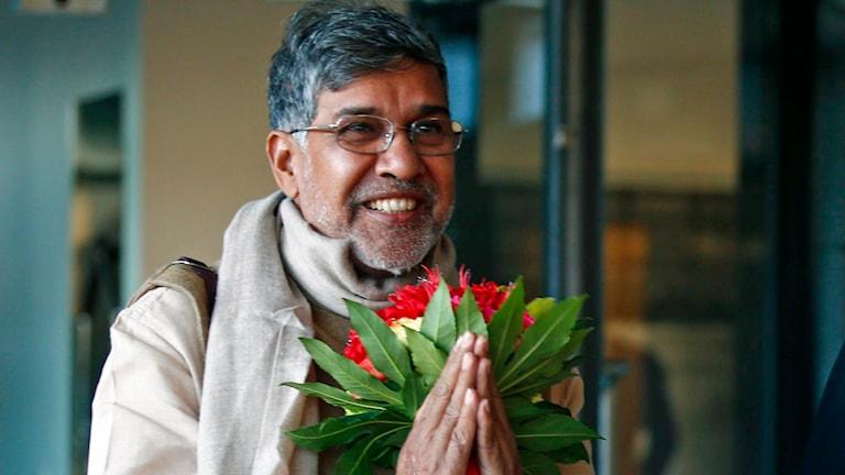 Kailash Satyarthi. Foto: Heiko Junge/TT.
