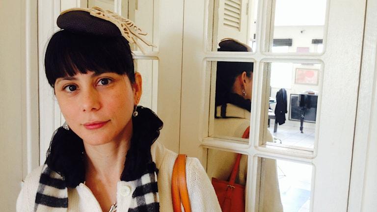 Den kubanska författaren Wendy Guerra.
