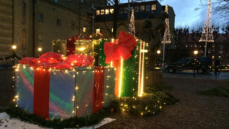 Julstaden i Göteborg. Foto: Carina Holmberg/Sveriges Radio