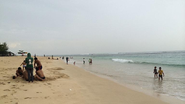 Stranden Lummuk.