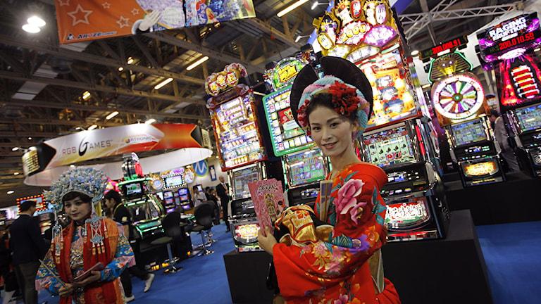 Japanskt kasino. Foto: Vincent Yu/TT