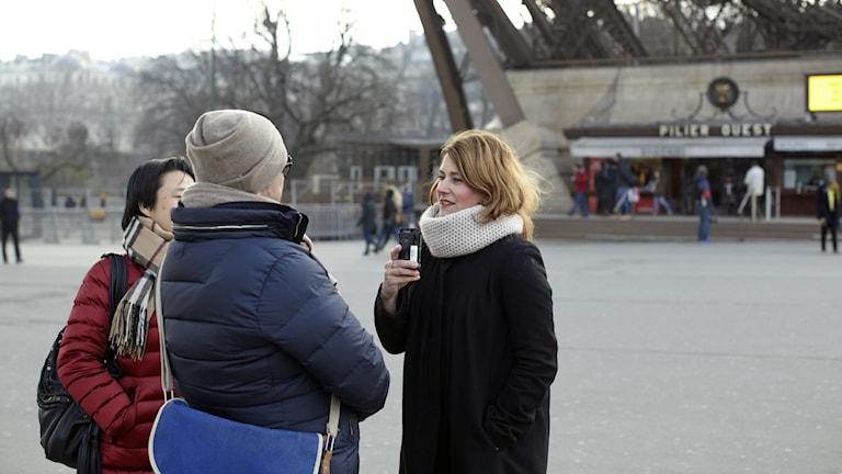 Beatrice Janzon intervjuar