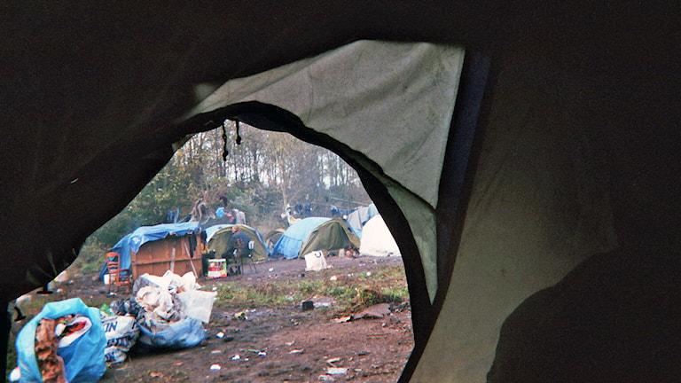 fotografi flyktingläger