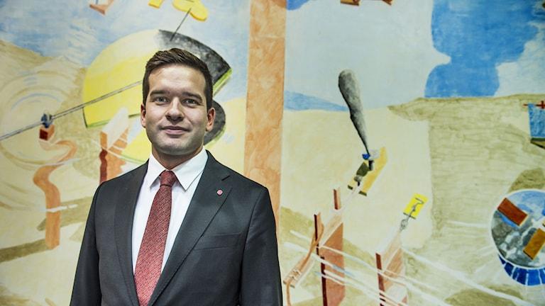 Gabriel Wikström (S), folkhälso- och sjukvårdsminister. Foto: Lars Pehrson/TT