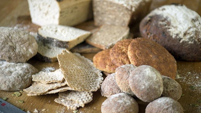 Glutenfritt bröd. Foto: Leif R Jansson/TT