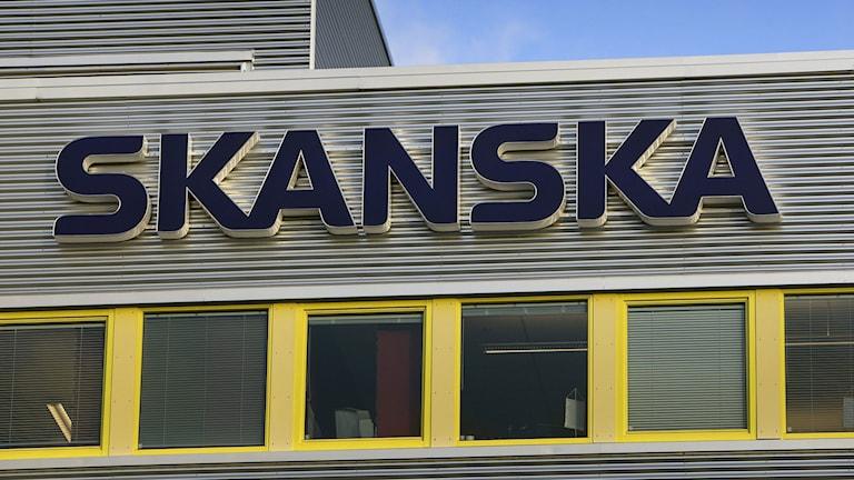 Skanska. Foto: Gorm Kallestad/TT