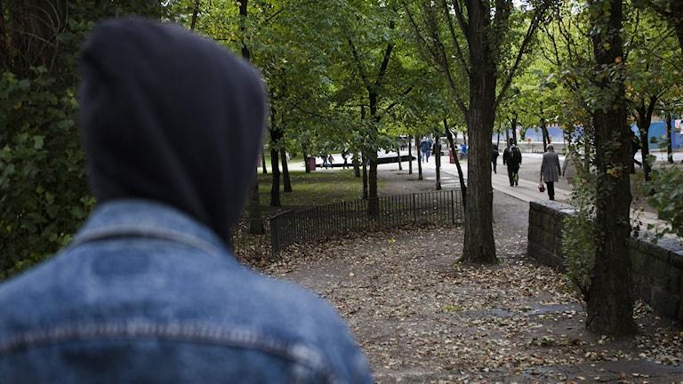 En kartläggning visar att under de senaste 5 åren har psykiska störningar fördubblats bland 15 till 24-åringar. Foto: Robin Haldert/TT.