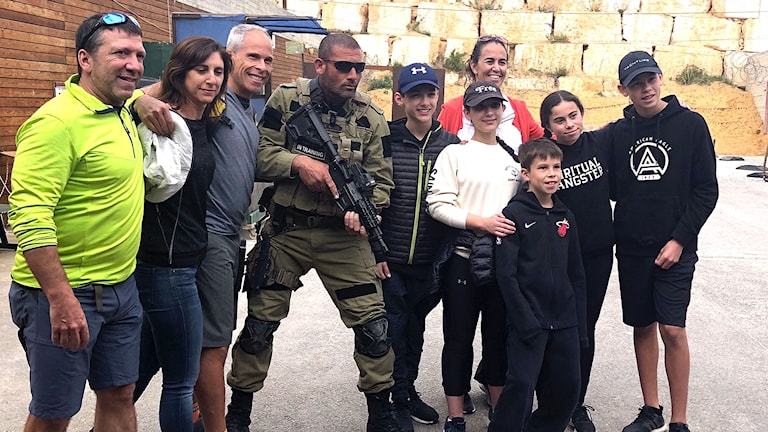 Antiterroristträning nytt turistnöje i Israel