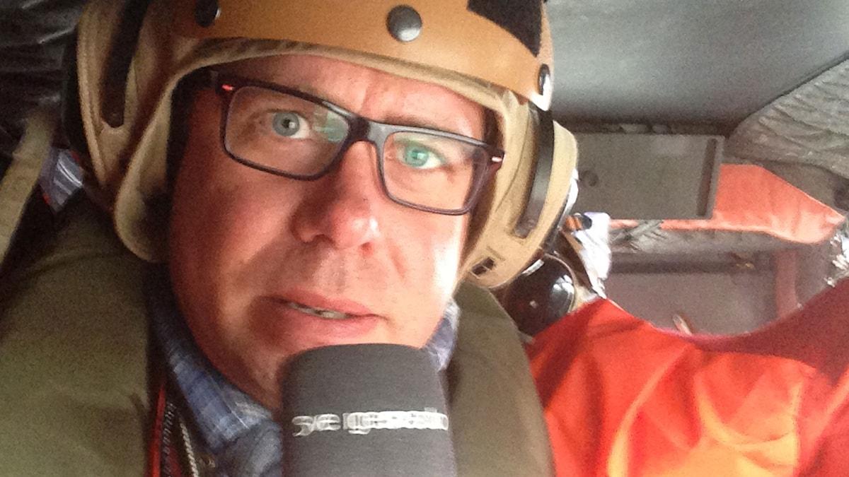 Jan Andersson. Foto: Jan Andersson/Sveriges Radio