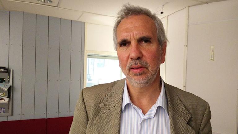 Lars Korsell, Brottsförebyggande Rådet Foto:Christoffer Wiklöw/Sveriges Radio