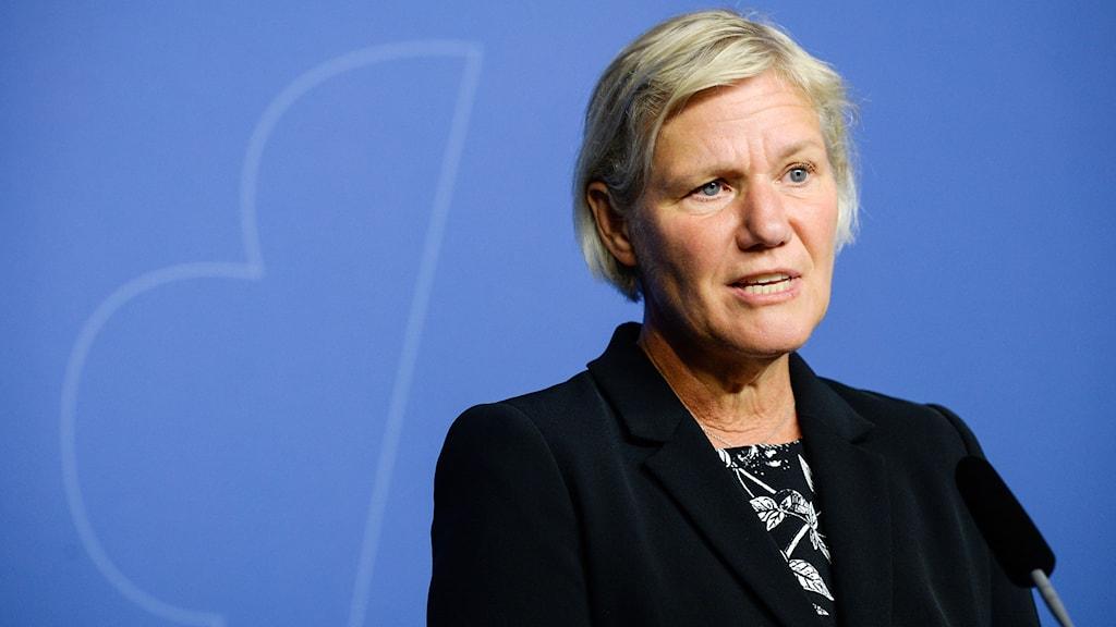 Ann-Marie Begler, Försäkringskassans generaldirektör. Foto: Bertil Ericson/TT