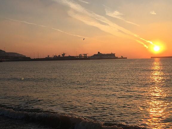 Dovers hamn. Foto: Staffan Sonning/Sveriges Radio