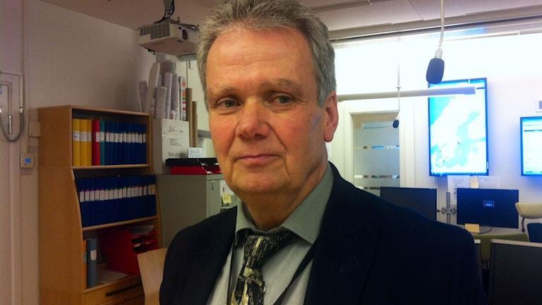 Willis Åberg, Migrationsverket Foto: Alexandra Svedberg/Sveriges Radio.