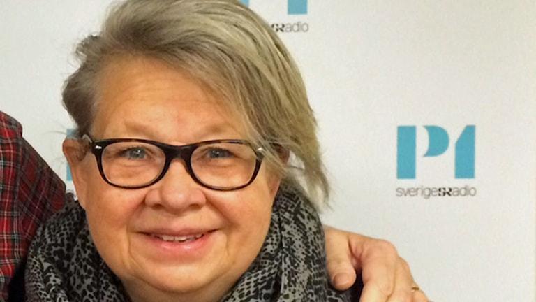 Svensk Damtidnings chefredaktör Karin Lennmor. Foto: Helena Ulander/Sveriges Radio.
