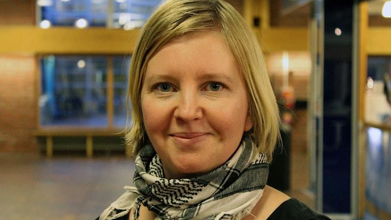 Josefin Rönnbäck, historiker vid Luleå Tekniska Universitet. Foto: Luleå Tekniska Universitet
