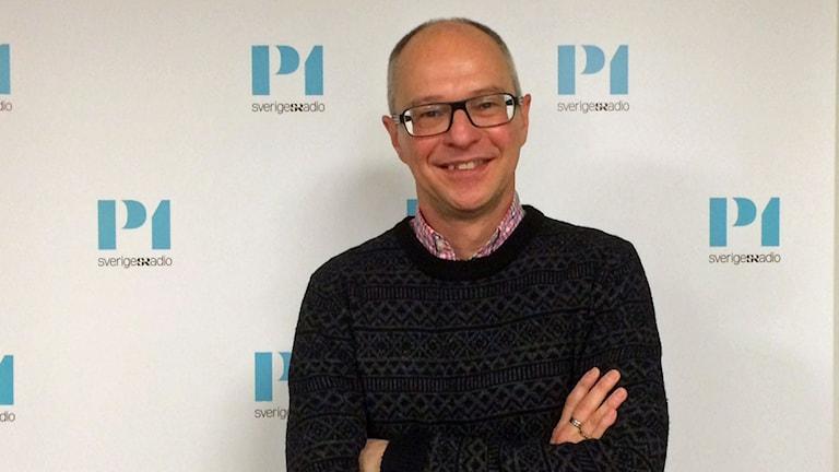 Hans Olsson, sakkunnig i sexualundervisning på RFSU. Foto: Helena Ulander/Sveriges Radio.
