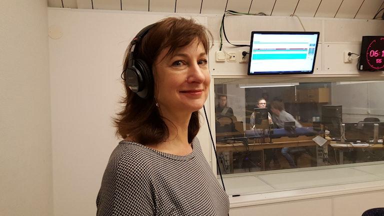 Jane Walerud, VDförföretagetTecloNetwork. Foto: Lena Wiktorin/Sveriges Radio