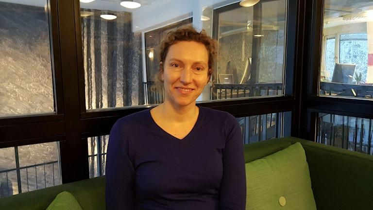 Karin Bradley, forskare vid institutionen för samhälle och miljö på KTH.