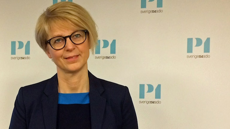 Elisabeth Svantesson, Moderaternas arbetsmarknadspolitiska talesperson.