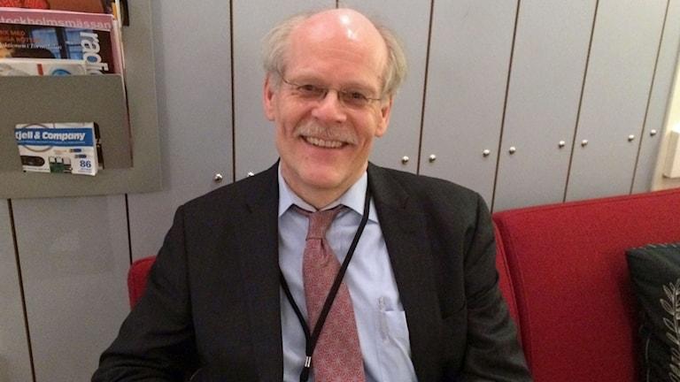 Riksbankschef Stefan Ingves hos P1-mogon.