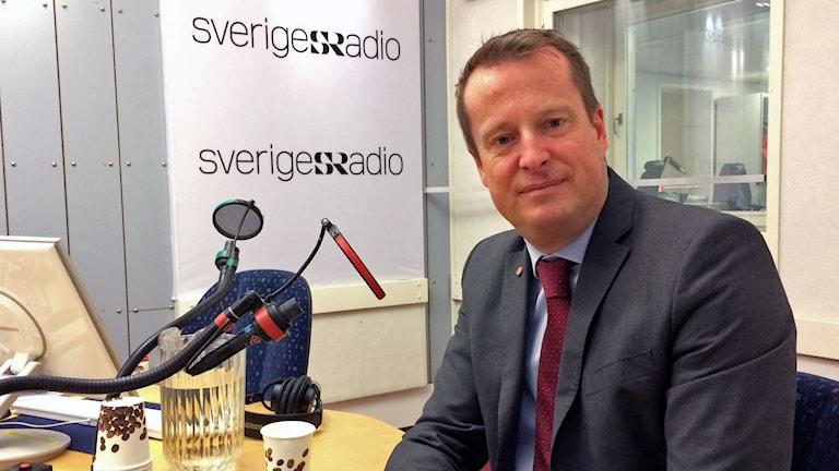 Anders Ygeman (S), Sveriges inrikesminister.